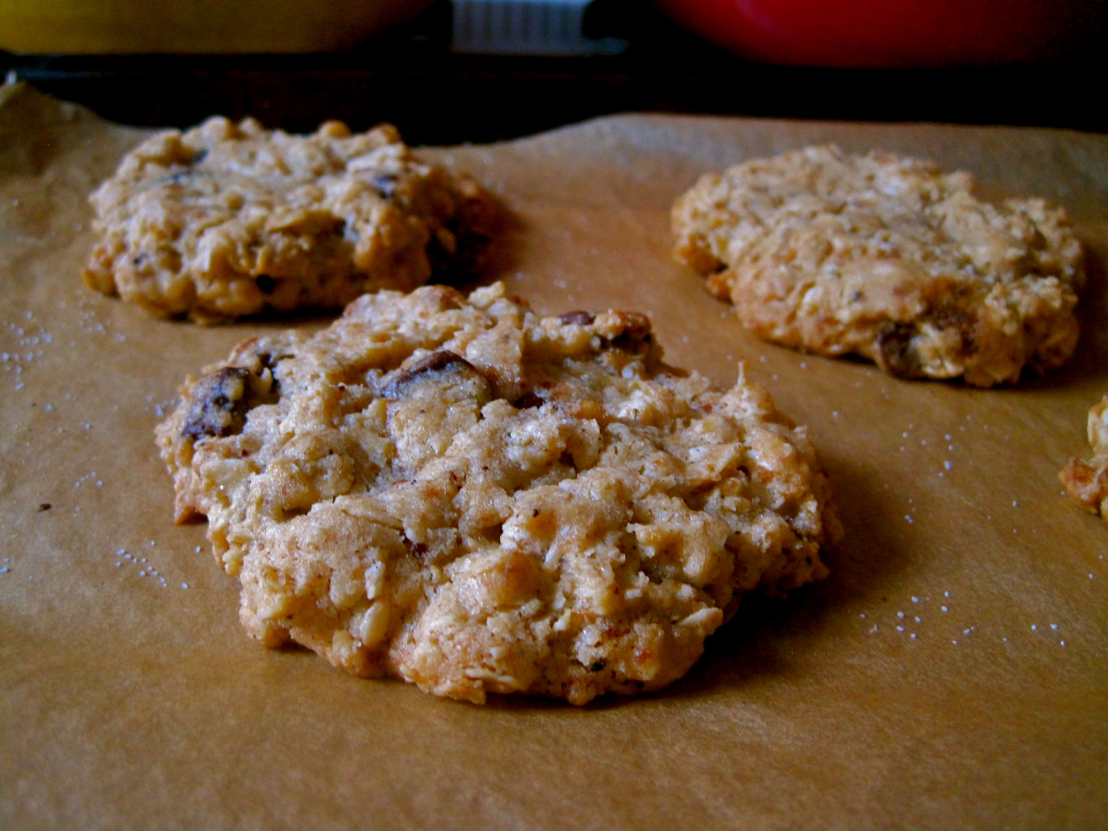 "... Cookie"" Brown Butter Oatmeal Chocolate Chip Cookies 